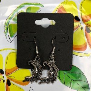 rockstar sun earrings